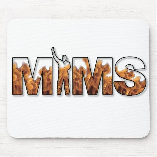 MIMS Mousepad -  Logo - White