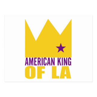 MIMS Postcard - American King of L A