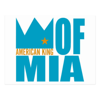 MIMS Postcard - American King of MIA