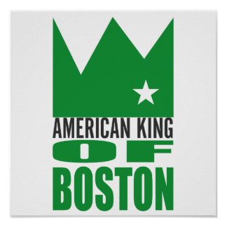 MIMS Poster Print -  American King of Boston