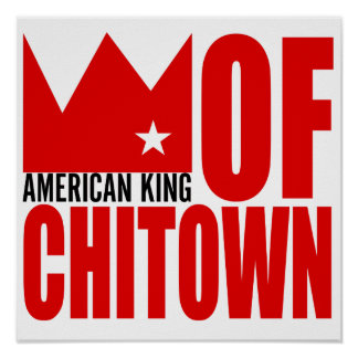 MIMS Poster Print -  American King of Chi-Town