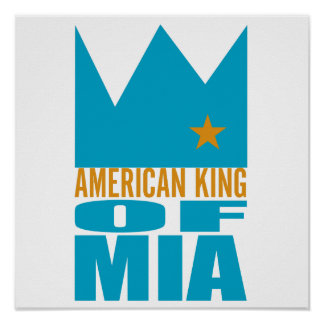 MIMS Poster Print -  American King of MIA