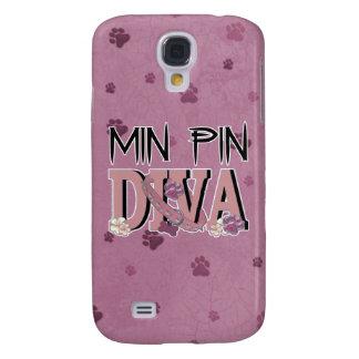 Min Pin DIVA Samsung Galaxy S4 Covers