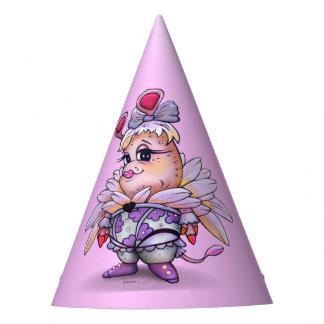MINA BELLA ALIEN MONSTER CARTOON Party Hat