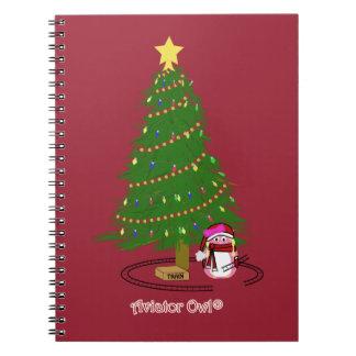 Mina Decorates a Tree Notebooks