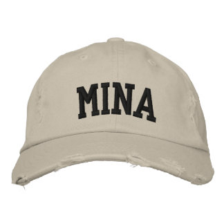 Mina Embroidered Hat Embroidered Hats