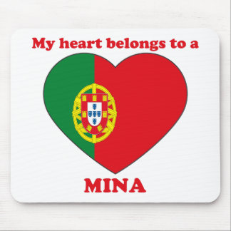 Mina Mouse Pad