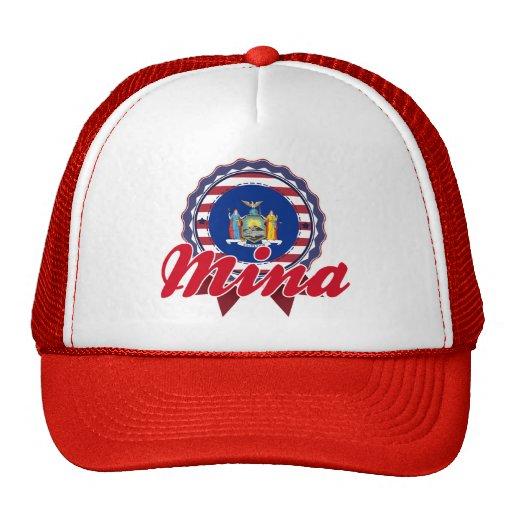 Mina, NY Trucker Hat