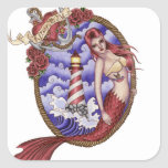 Mina - Tattoo Mermaid Sticker