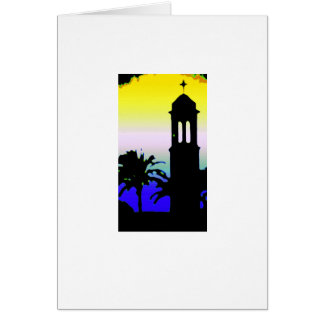 Minaret 2 greeting card