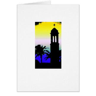 Minaret 2 greeting card