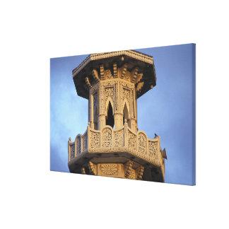 Minaret of the Al-Majarra Mosque, Sharjah, Canvas Prints