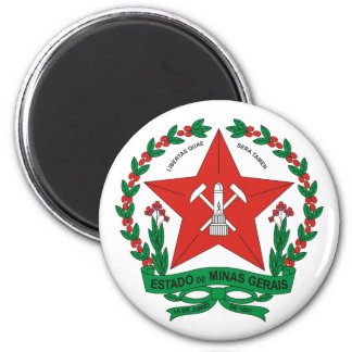 Minas Gerais Brazil Magnets