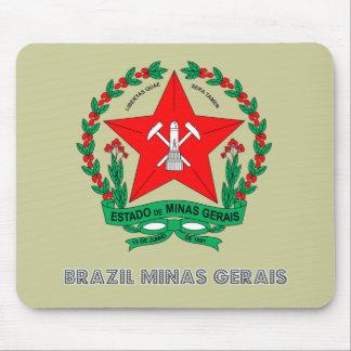 Minas Gerais Emblem Mouse Pad
