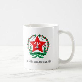 Minas Gerais Emblem Classic White Coffee Mug