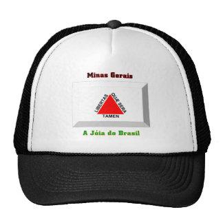 Minas Gerais Flag Gem Cap
