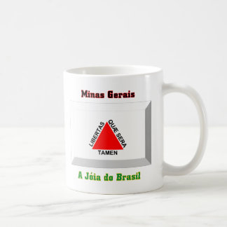 Minas Gerais Flag Gem Coffee Mug