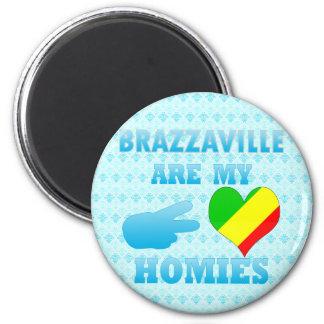 Minas Geraiss are my Homies 6 Cm Round Magnet
