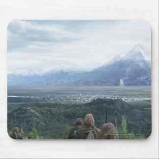Minas Tirith in View Mouse Mat