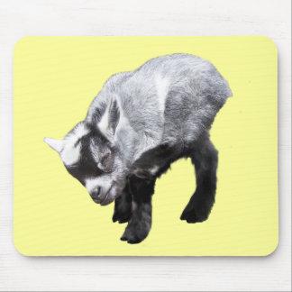 Minature Goat Scratching Mousepad