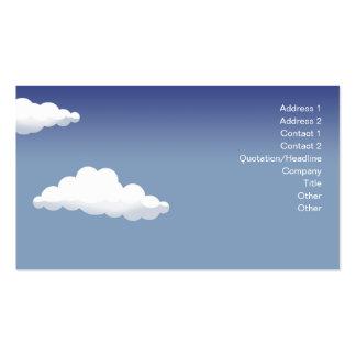 Minature Landscape - Business Pack Of Standard Business Cards