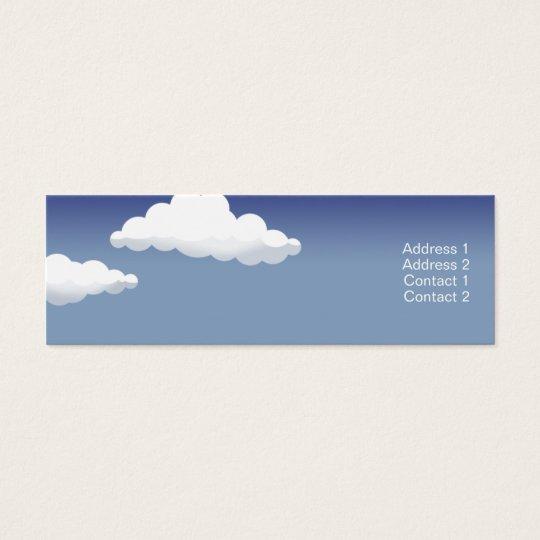 Minature Landscape - Skinny Mini Business Card