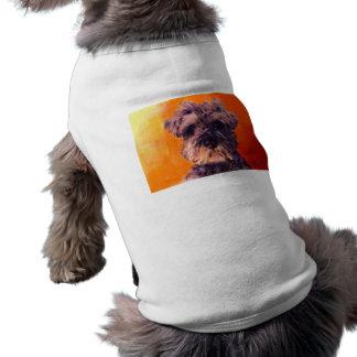 Minature Schnauzer Sleeveless Dog Shirt