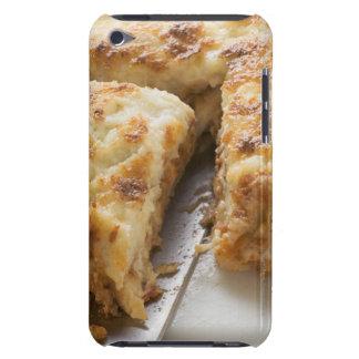 Mince lasagne, a portion cut iPod touch Case-Mate case