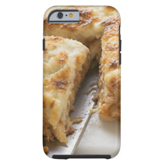 Mince lasagne, a portion cut tough iPhone 6 case