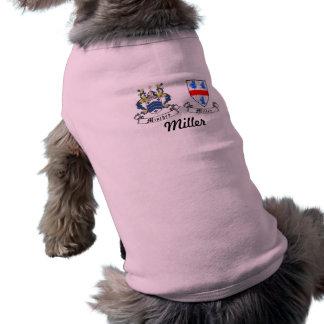 Minchey Miller Family Crest Sleeveless Dog Shirt