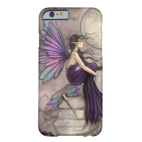 Mind Adrift Fairy and Dragonfly Fantasy Art Barely