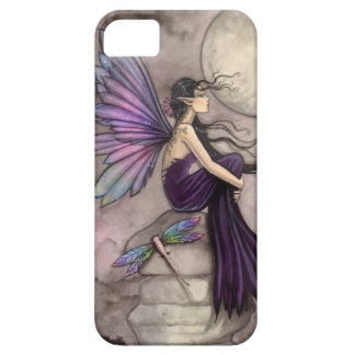 Mind Adrift Fairy and Dragonfly Fantasy Art iPhone 5 Cover
