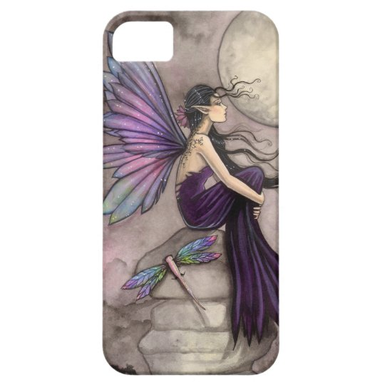 Mind Adrift Fairy and Dragonfly Fantasy Art iPhone