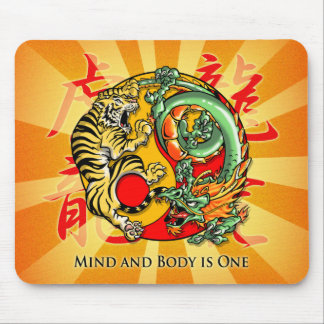 Mind and Body is One Mouse Pad