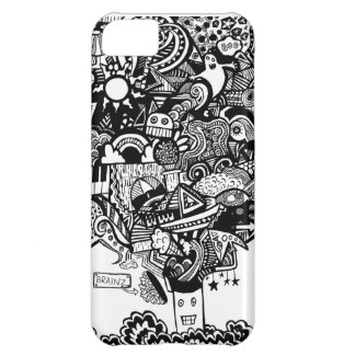 mind blown iPhone 5C cover