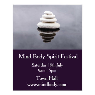 Mind Body Spirit New age festival Flyer
