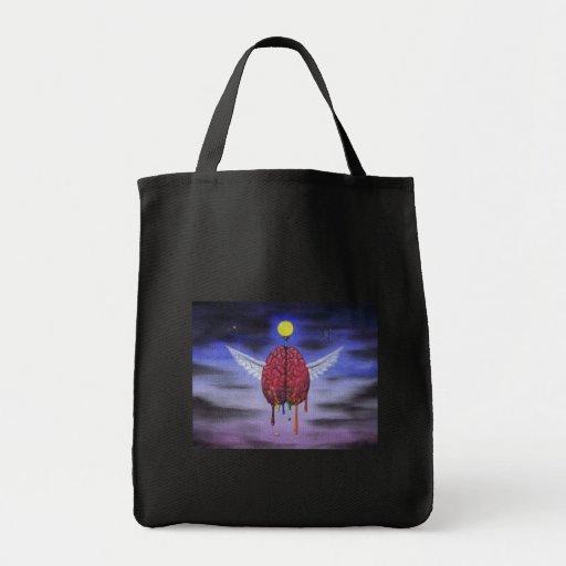 mind has wings tote bag