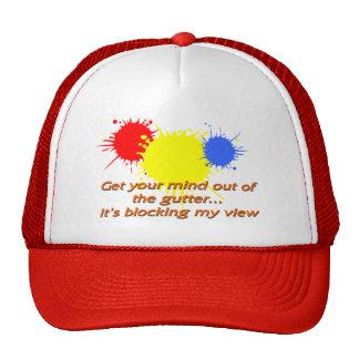 Mind in Gutter Mesh Hat
