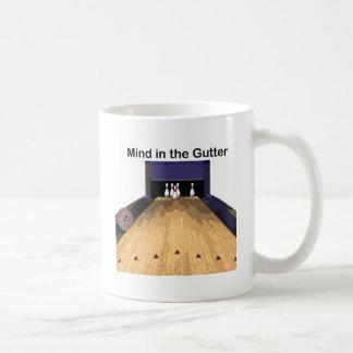 Mind in the Gutter Basic White Mug