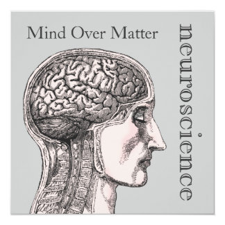 Mind Over Matter Brain Neuroscience Invitations
