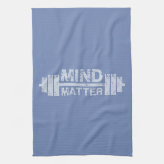 Mind Over Matter - Gym Workout Motivational Towel