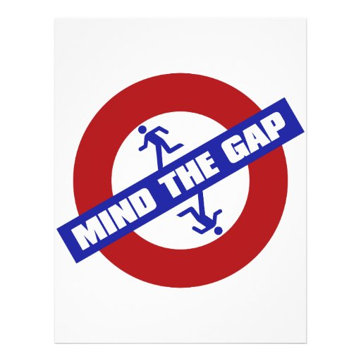 MIND_THE_GAP 21.5 CM X 28 CM FLYER