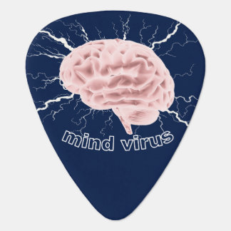 Mind Virus Guitar Pick