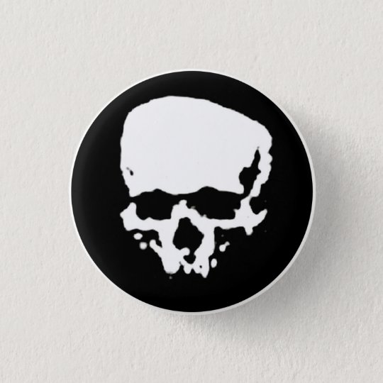 Mind Wither Day signature skull 3 Cm Round Badge