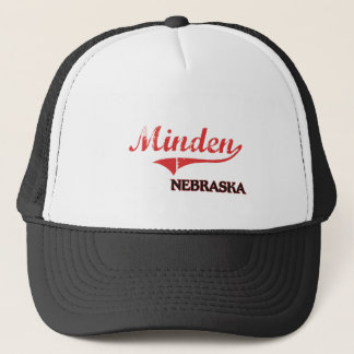 Minden Nebraska City Classic Trucker Hat