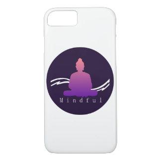"""Mindful"" Beautiful Buddha Iphone case. iPhone 8/7 Case"