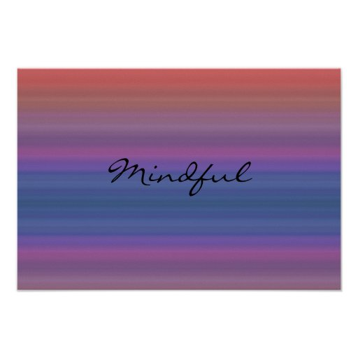 Mindful - Choose your own WORD for the year! Print