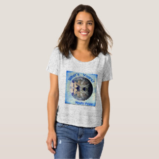 Mindful Pebble Planet Earth T-Shirt Grey