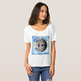 Mindful Pebble Planet Earth T-Shirt White
