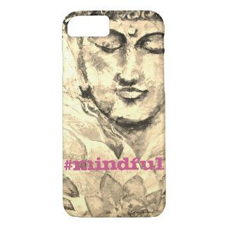 Mindful Zen Buddha Watercolor Art Phone Case